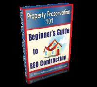 Free Beginners Guide To REO Contracting